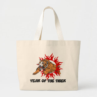 Year of The Tiger Canvas Bag