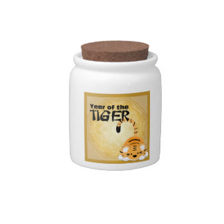 Year of the Tiger Candy Jar