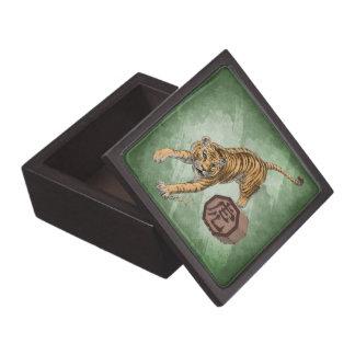 Year of the Tiger Chinese Zodiac Animal Premium Keepsake Box