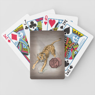 Year of the Tiger Chinese Zodiac Art Bicycle Playing Cards