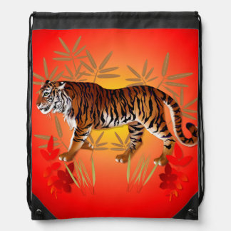 YEAR OF THE TIGER- DRAWSTRING BACKPACK