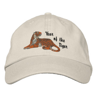 Year of the Tiger Embroidered Baseball Cap