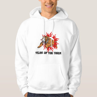 Year of The Tiger Hooded Pullover