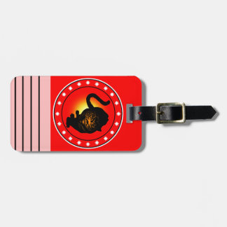 Year of the Tiger Luggage Tag
