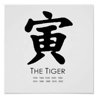 Year of the Tiger Poster