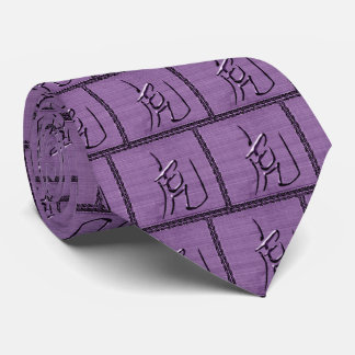 Year of the Tiger-Purple Passion Neck Tie