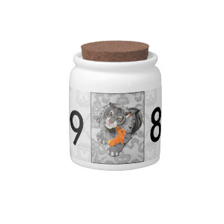 Year of the Tiger / Rabbit Candy Jar