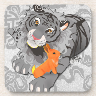 Year of the Tiger / Rabbit Cork Coasters