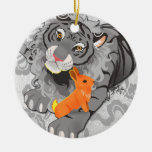 Year of the Tiger / Rabbit Ornament