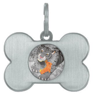 Year of the Tiger / Rabbit Pet Tag