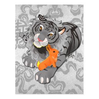 Year of the Tiger / Rabbit Postcard