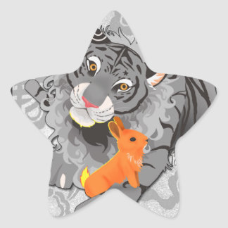 Year of the Tiger / Rabbit Stickers