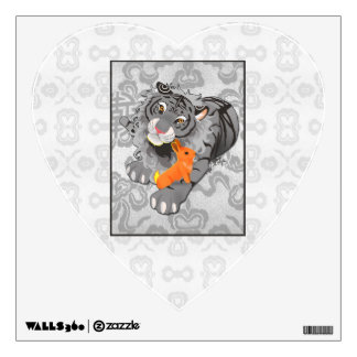 Year of the Tiger / Rabbit Wall Heart Wall Sticker