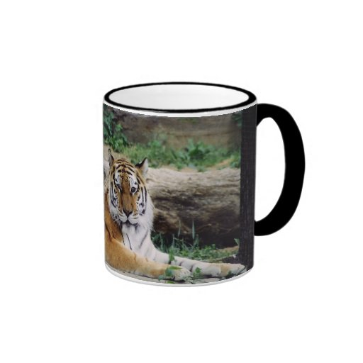 Year of the Tiger Ringer Coffee Mug