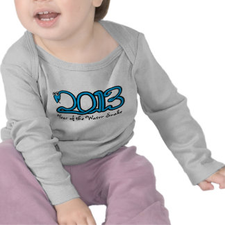 Year of the Water Snake 2013 Infant Long Sleeve T-shirts