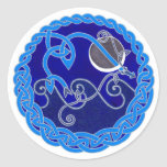 Year of the Water Snake Classic Round Sticker