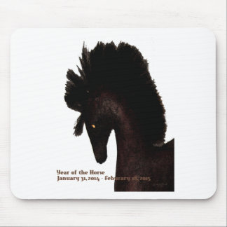 Year of the Wood horse Mouse Pad