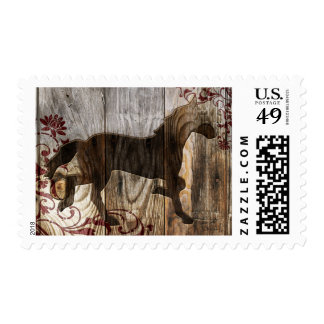 year of the wooden horse postage stamp
