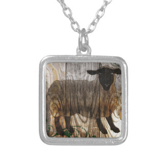 year of the wooden sheep personalized necklace