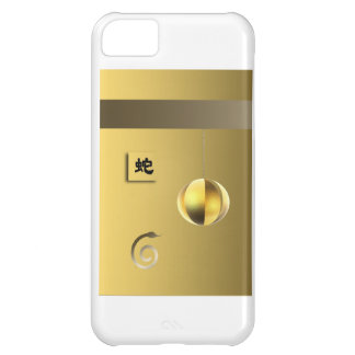 Year of theSnake lantern yellow gold iPhone 5C Covers
