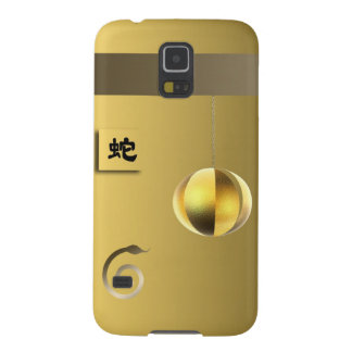 Year of theSnake lantern yellow gold Cases For Galaxy S5