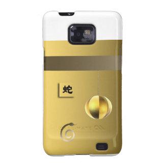 Year of theSnake lantern yellow gold Samsung Galaxy S2 Case