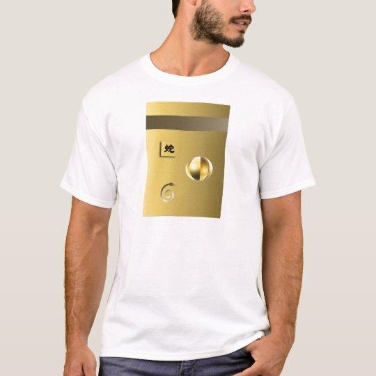 Year of theSnake lantern yellow gold T-Shirt