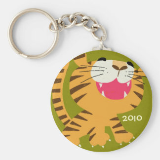 Year oThe Tiger Key Chain