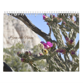 Year with Nature Calendar
