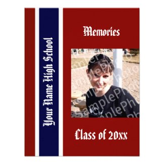 Yearbook Grad Announcement