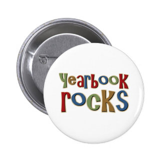 Yearbook Rocks Button