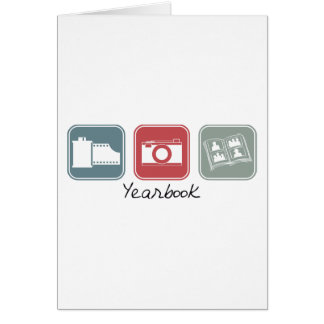 Yearbook (Squares) Greeting Card