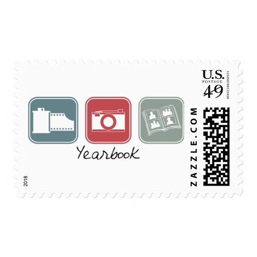 Yearbook (Squares) Postage Stamps