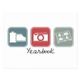 Yearbook (Squares) Postcard
