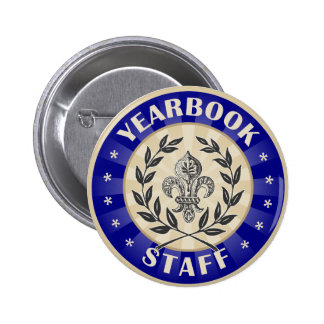 Yearbook Staff Button