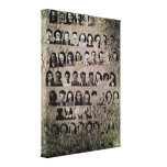 Yearbook - Wrapped Canvas Print