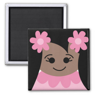 yearbookface13 2 inch square magnet