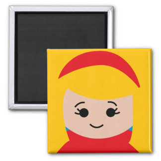 yearbookface8 2 inch square magnet