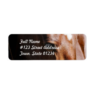 Yearling Return Address Mailing Label