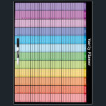 """Yearly Planner Dry Erase Board<br><div class=""""desc"""">Yearly Planner Dry Erase Board. A years worth of plans at a glance on this calendar dry erase board. There is an option to have the pen holder not attached.</div>"""