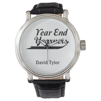 yearners de finales de ano reloj de mano