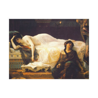 Yearning 1880 canvas print