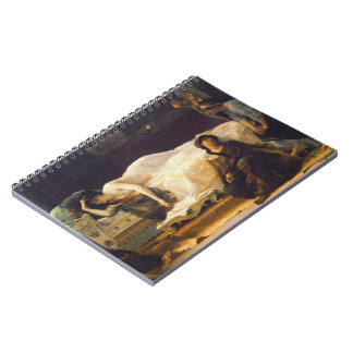Yearning 1880 spiral notebook