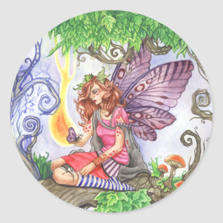 Yearning Colorful Fairy Sticker