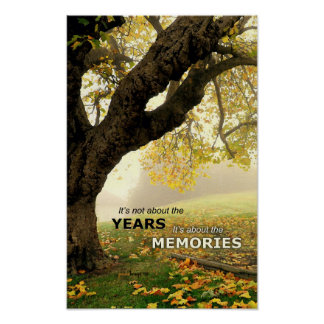 Years and Memories (Live Oak Tree) Poster