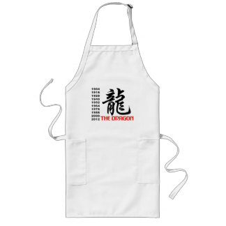 Years of The Dragon Long Apron
