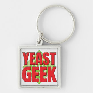 Yeast Geek v2 Keychain