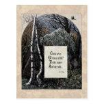 """Yeats postal del Victorian """"del niño robado"""""""