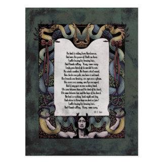 "Yeats ""recibimiento postal del Victorian del Sidhe"