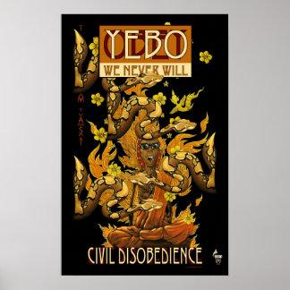 YEBO Burning Monk, Civil Disobedience 2 Poster